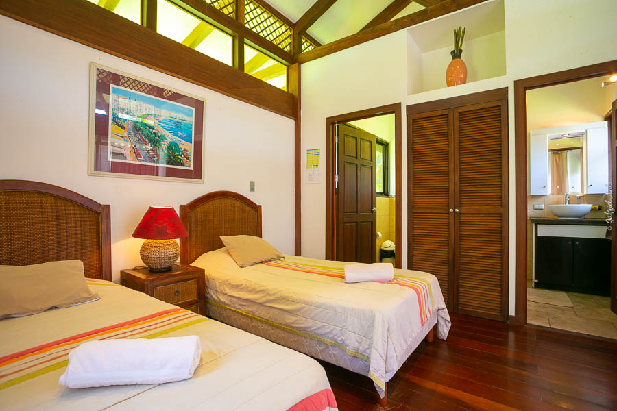 Front Beach Eco Lodge in Cahuita Costa Rica